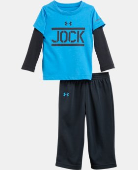 Boys' Infant UA JOCK Long Sleeve 2-Piece Set