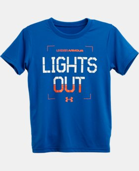 Boys' Infant UA Lights Out Glo T-Shirt