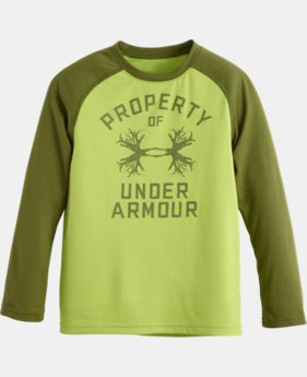 Boys' Toddler UA Outdoor Property LS T-Shirt