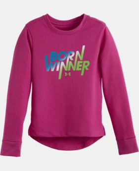 Girls' Toddler UA Born Winner Long Sleeve