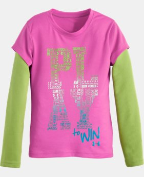 Girls' Toddler UA Play To Win Long Sleeve