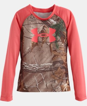 Girls' Toddler UA Camo Raglan