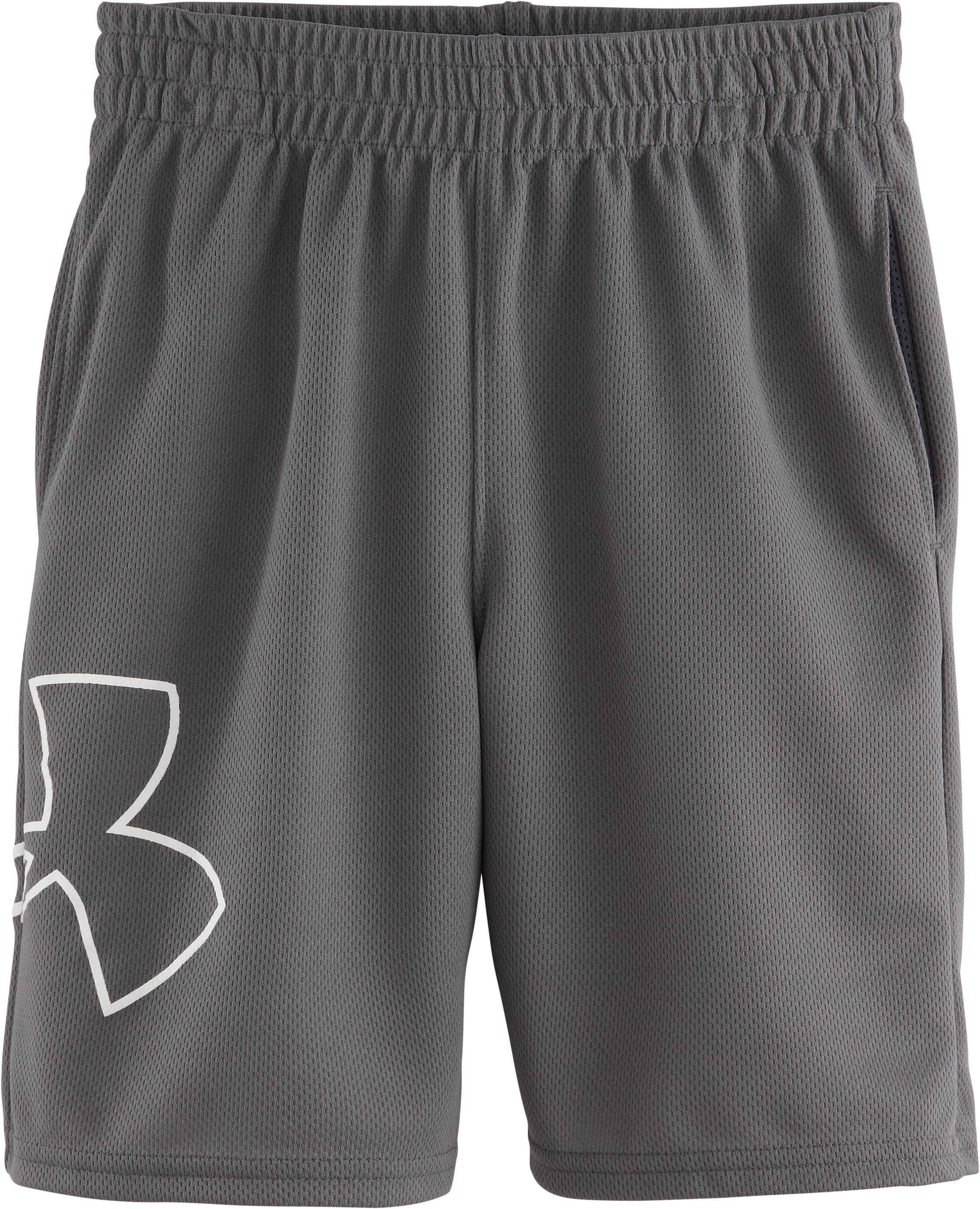 Boys' Toddler UA Souped Up Shorts, Graphite, Laydown