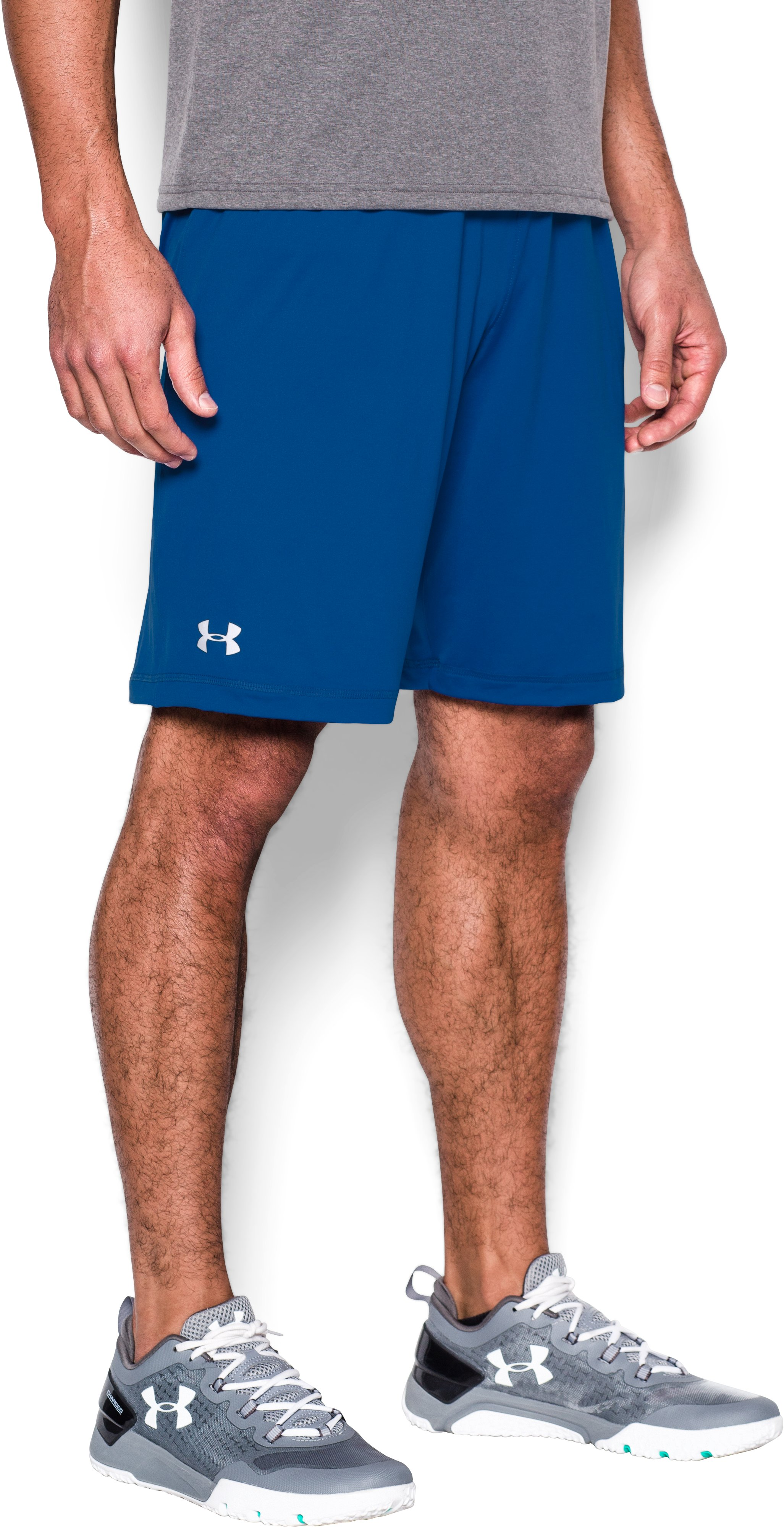 Men's UA Raid Team Shorts, Royal, undefined
