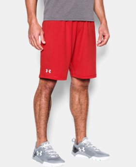 New to Outlet Men's UA Raid Team Shorts LIMITED TIME OFFER 1 Color $17.49
