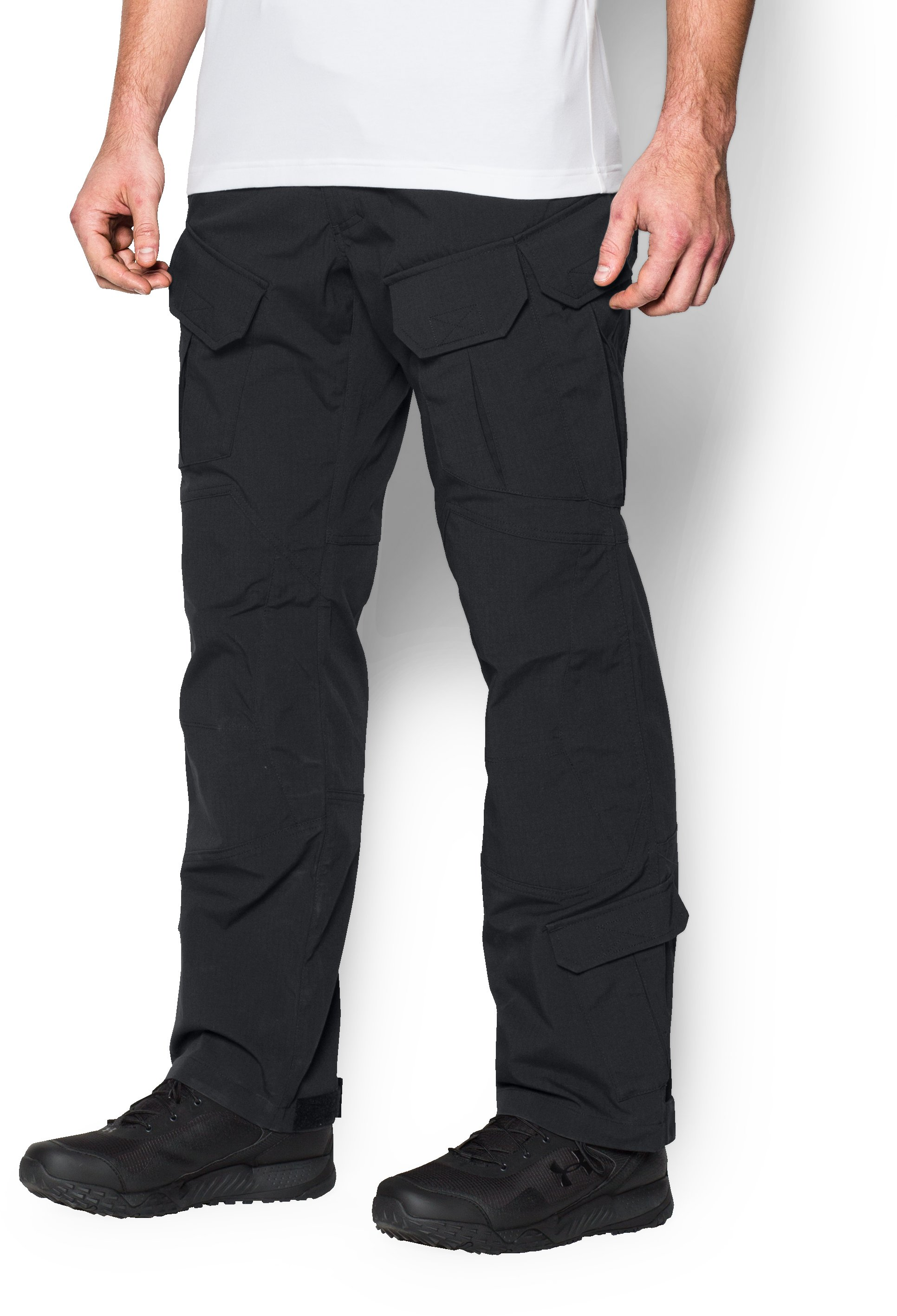 Men's UA Storm Tactical Elite Pants, Black ,