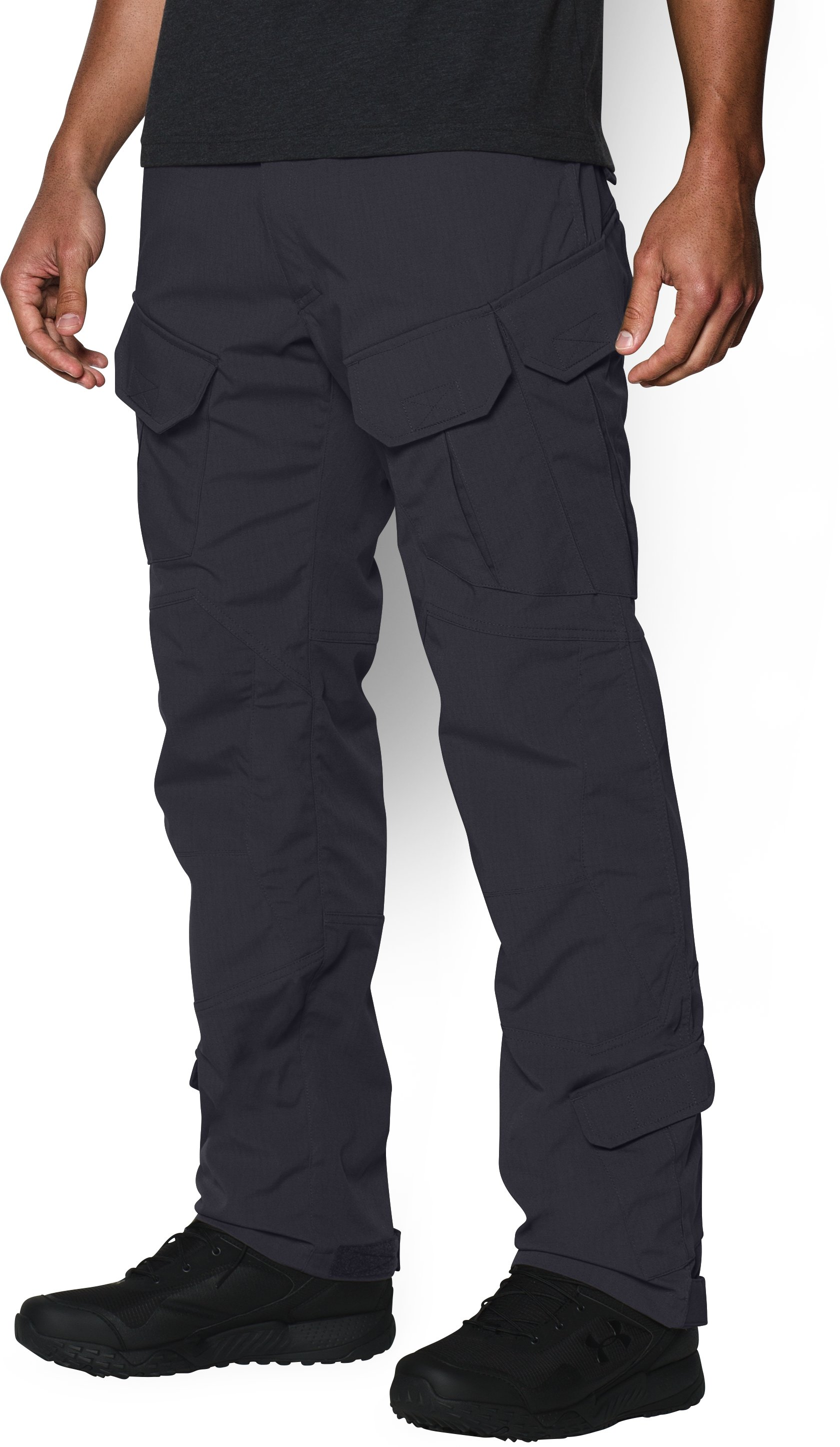 Men's UA Storm Tactical Elite Pants, Dark Navy Blue
