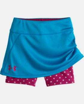 Girls' Toddler UA Shimmer Dot Skort