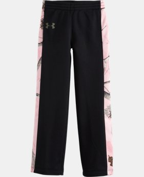 Girls' Toddler UA Camo Pants