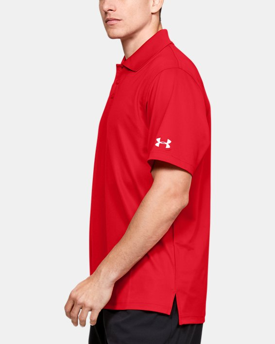 Men's UA Performance Corp Polo, Red, pdpMainDesktop image number 5