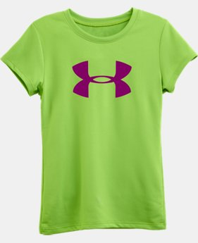 Girls' Toddler UA Big Logo Short Sleeve