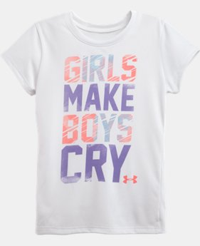 Girls' Toddler UA Girls Make Boys Cry T-Shirt