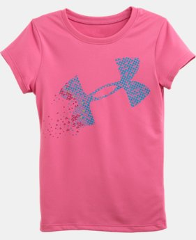 Girls' Toddler Blown Away UA Big Logo T-Shirt