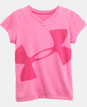 Girls' Toddler UA Tech™ Exploded Logo V-Neck