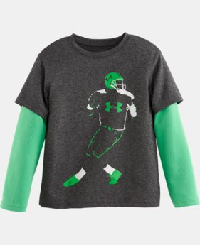 Boys' Toddler UA QB Slider T-Shirt