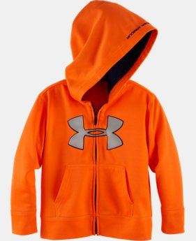 Boys' Toddler UA Big Logo Reflective Hoodie