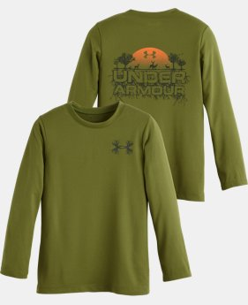 Boys' Pre-School UA Roots Long Sleeve T-Shirt