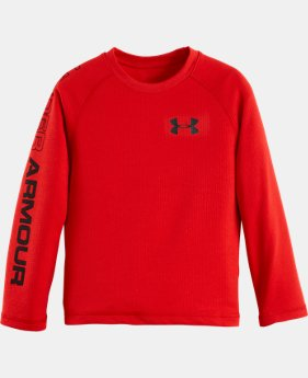 Boys' Pre-School UA Dynamism Long Sleeve T-Shirt