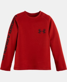Boys' Pre-School UA Outdoor Raglan Long Sleeve T-Shirt