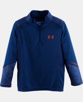 Boys' UA Nightvision ¼ Zip