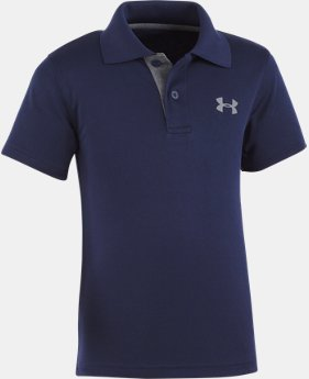 Boys' Pre-School UA Match Play Polo   $27