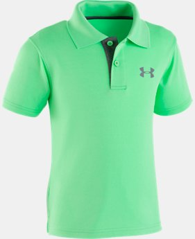 Boys' Pre-School UA Match Play Polo  3  Colors Available $26.99 to $27