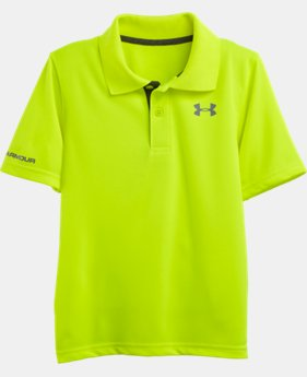 Boys' Pre-School UA Match Play Polo  1  Color Available $26.99 to $27