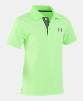 25a8285b31 Boys' Green Little Kids (Size 4-7) Polo Shirts | Under Armour US