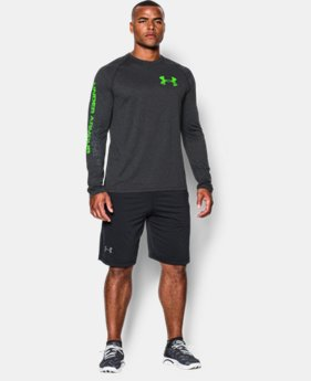 Men's UA Tech™ Graphic Long Sleeve T-Shirt