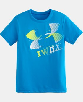 Boys' Pre-School UA I Will® T-Shirt