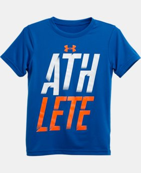 Boys' Pre-School UA Athlete T-Shirt