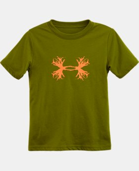 Boys' Pre-School UA Antler Big Logo T-Shirt