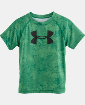 Boys' Pre-School UA Nightvision Camo Slider T-Shirt