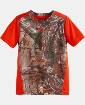 Boys' Pre-School UA Real Tree Stealth T-Shirt  1 Color $22.99