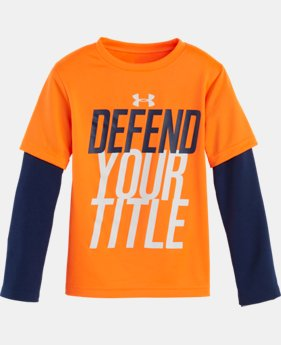 Boys' Pre-School UA Defend Your Title Slider