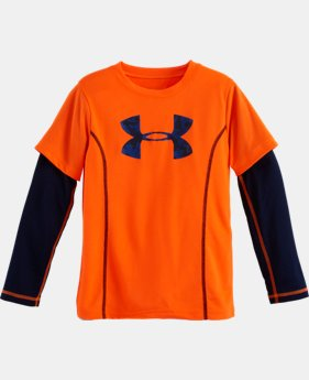 Boys' Pre-School UA Big Logo Arctic Slider