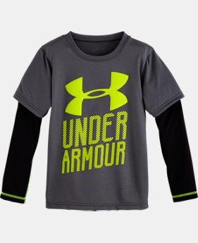 Boys' Pre-School UA Branded Slider