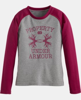 Girls' Pre-School Property Of UA Antler Long Sleeve