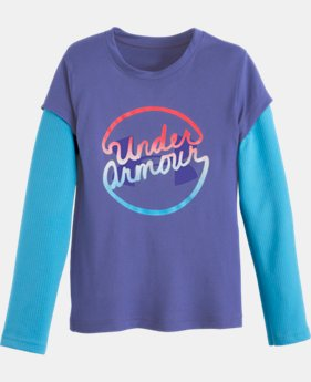 Girls' Pre-School UA Slider Long Sleeve