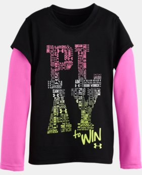 Girls' Pre-School UA Play To Win Long Sleeve