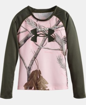 Girls' Pre-School UA Camo Raglan LIMITED TIME: FREE U.S. SHIPPING  $26.99