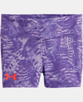 Girls' Pre-School UA Feather Camo Shorts