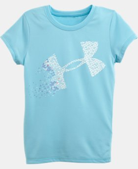 Girls' Pre-School Blown Away UA Big Logo T-Shirt