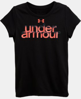 Girls' Pre-School UA Dip Dye T-Shirt