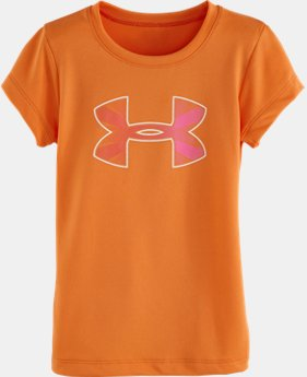 Girls' Pre-School UA Big Logo Burst T-Shirt