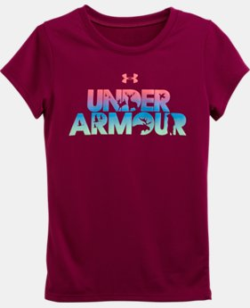 Girls' Pre-School UA Game On Short Sleeve