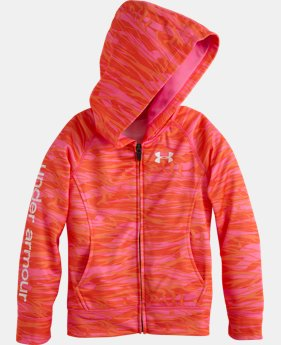 Girls' Pre-School UA Sunset Full Zip Hoodie