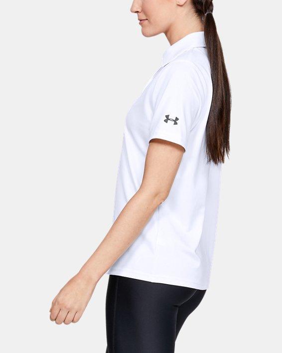 Women's UA Performance Polo, White, pdpMainDesktop image number 5