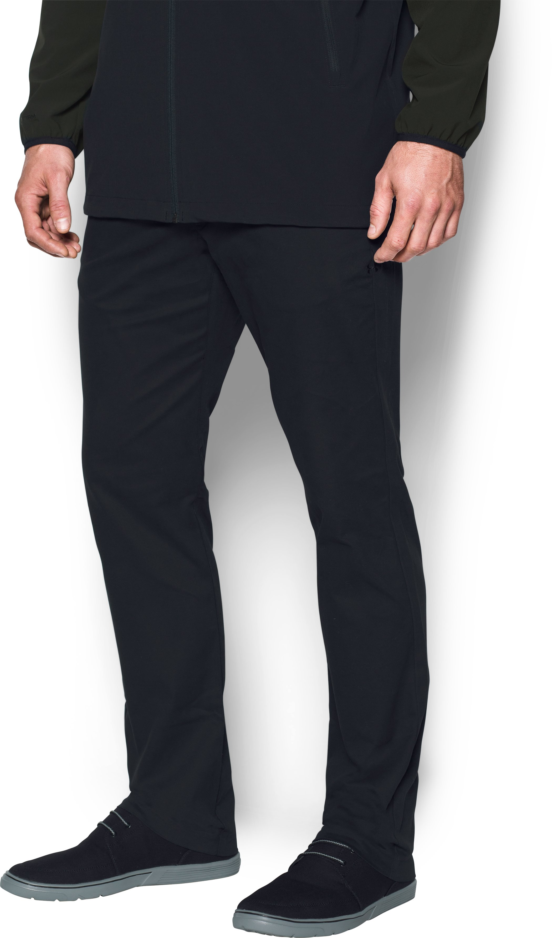 Men's UA Performance Chino — Tapered Leg, Black