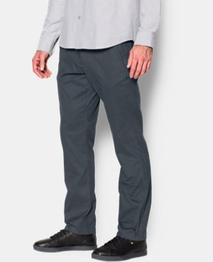 Best Seller Men's UA Performance Chino – Tapered Leg  2 Colors $79.99